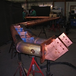 GMAW Capabilities-MIG Welding of Custom Fabricated Copper Bus Tube